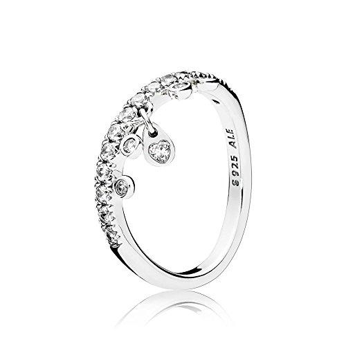 Pandora Damen-Ringe 925 Sterlingsilber zirkonia '- Ringgröße 56 (17.8) 197108CZ-56