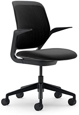 Steelcase Cobi Chair, Licorice Fabric -