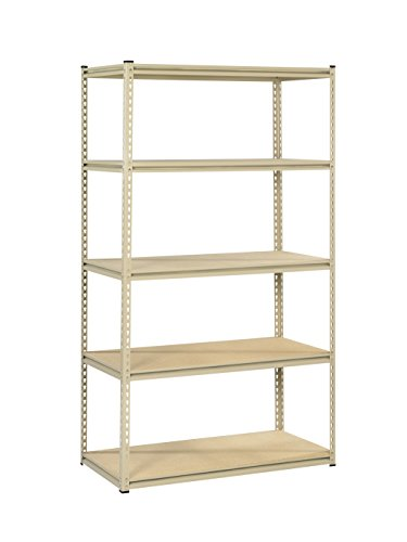 Tennsco Corporation LSS-482484 Industrial Grade Stur-D-Stor Shelving Package, 5 Shelves, 48