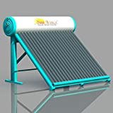 Sun Zone Solar 100 LPD Flat Plate Water Heater (Off-White)