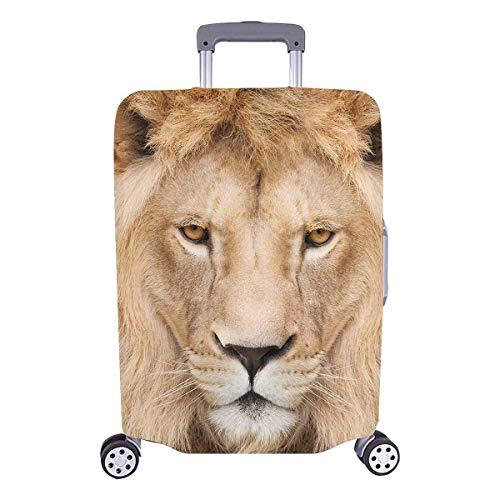 Majestic Lion Mane Animal Head Travelers Choice Travel Equipaje con Ruedas giratorias Maleta con Equipaje de 24 Pulgadas