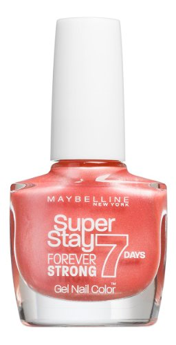 Vernis à ongles New York Forever Strong Finish Maybelline - 401 - Pèche
