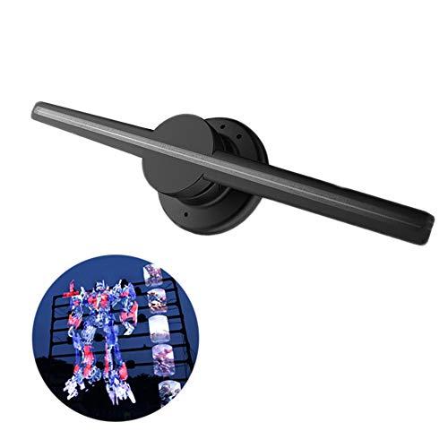 Exhibición del Holograma 3D Abanico de proyección portátil, WiFi Potente y 320 Piezas de los Granos del LED, la Publicidad de vídeo Ventilador para Tiendas Business Office Home y Entretenimiento