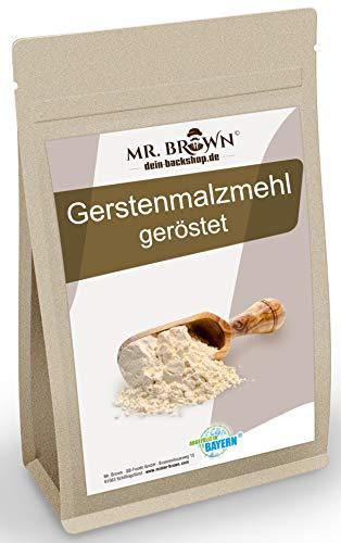 Gerstenbackmalz, 1kg | Malzmehl zum Backen | für knusprige Brote und Brötchen | enzymaktiv & ballaststoffreicher Mehlzusatz | Backmalz (9,95€/kg)