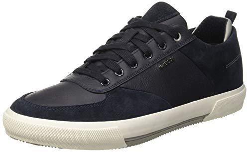 Geox Herren U KAVEN A Sneaker, Blau (Navy C4002), 44 EU