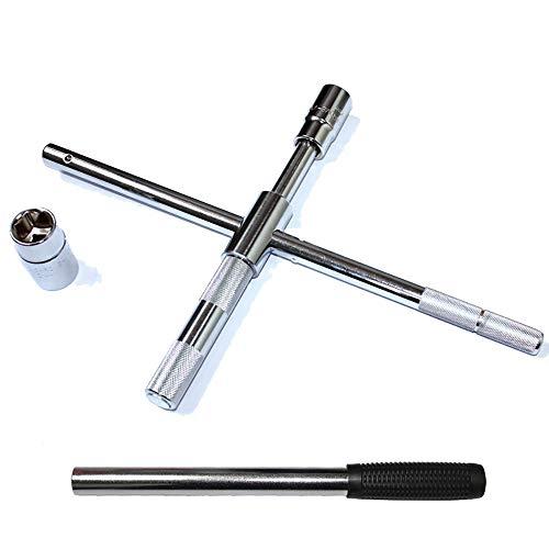 UANDM Autobandenmoersleutel Auto Met een Cross Socket moersleutel Arbeidsbesparende Verlengingsbanden Autoband Verwisselen Gereedschap
