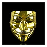 SSN Máscaras De Halloween V For La Máscara De La Venganza De Guy Fawkes Anónimo Disfraz De Cosplay del Partido Festival For Cosplay (Color : C)