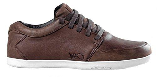 K1X LP Low Herren Sneakers Coffeebean braun schwaz weiß NEU Größe: 7 Farbe: braun