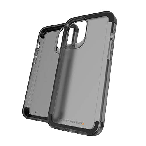 Gear4 Wembley Palette - made for iPhone 12 Pro Max - Advanced Impact Protection, Integrated D3O Technology, Protective Phone Cover – Smoke