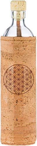 Flaska Trinkflasche Spiritual Kork 0,75 L Blume Des Lebens Flaska