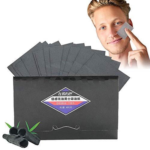 80 Teile/paket Ölabsorbierende Stoffe, Men Blotter Face Ölabsorbierende Kontrolle Trocknungskontrolle Clean Face Beauty Trocknungspapier