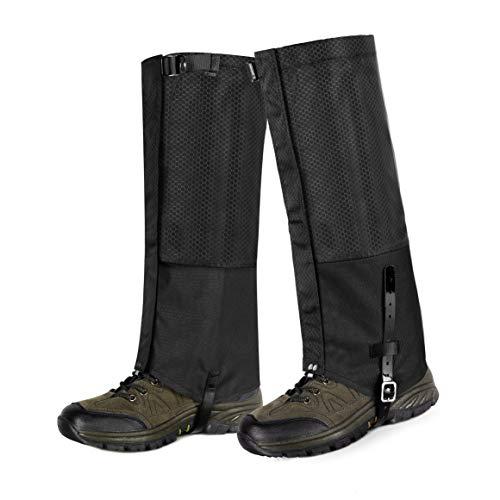 Unigear Polainas Impermeable 1 Par Prueba De Viento Nieve Lluvia Protección para Las Piernas para Montaña Senderismo Caza Esquí Escalada Guardia Anticorte Transpirable