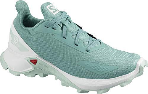 Salomon Kinder Alphacross Blast, Schuhe für Trail Running und Outdoor-Aktivitäten ,Blau (Meadowbrook/White/Icy Morn),31 EU