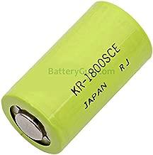 Single Cells Sanyo SC-1800 SANYO Nickel Cadmium (NICD) Battery 1.2 Volts