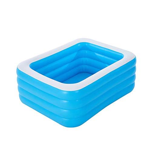 Yowablo Kinder Familie Inflation Pool Baby Ozean Ball Sand Pool Bad Spielzeug Platz (210 X 150 X 60cm,Mehrfarbig)