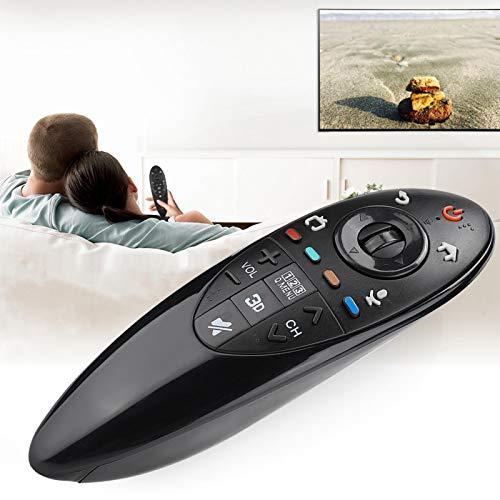 minifinker 2 * AA Baterías Distancia remota 10M / 33Ft Mando a Distancia portátil para LG TV Control Remoto de Repuesto, para Smart TV, para LG TV An-Mr500G