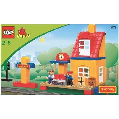 LEGO Duplo Ville 3778 - Eisenbahn Bahnhof