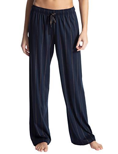 Calida Damen Favourites Trend 5 Schlafanzughose, Blau (Dark Lapis Blue 339), Medium (Herstellergröße: M)