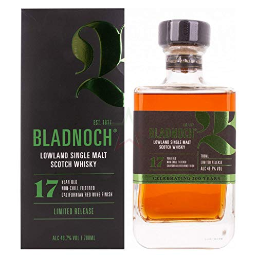 Bladnoch 17 Years Old Lowland Single Malt Scotch Whisky 46,70% 0,70 Liter