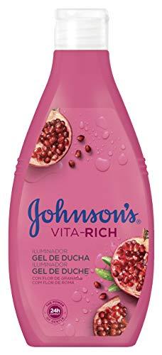 Johnson's Vita-Rich - Gel de ducha iluminador con extracto de Granada, 750 ml