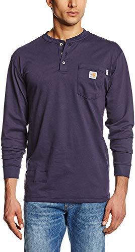 Carhartt Men's Flame Resistant Force Cotton Long Sleeve...