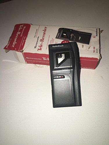 RADIO SHACK TRC-300 Voice Activated Microcassette Tele-Recorder