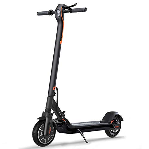 Hiboy MAXElectric Scooter - 350W Motor 8.5' Solid Tires Up to 17 Miles & 18.6 MPH One-Step Fold,...