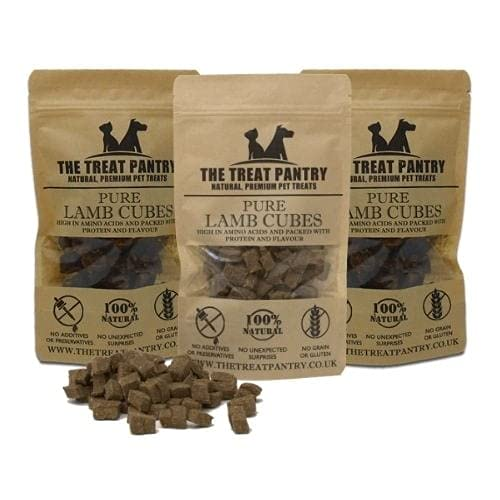 Lamb Cubes 3 Pack Dog Treats