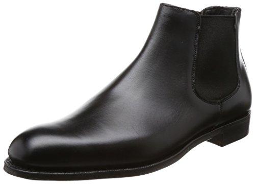 [チーニー] サイドゴアブーツ FAWKES フォークス イギリス製 牛革(カーフレザー) レザーソール 英国製 グッドイヤー製法 メンズ ブラック 25.0 cm
