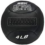 Champion Sports PRX4 Rhino Promax Elite Slam Balls, 4 lb, Soft Shell with Non-Slip Grip, Medicine Wall Exercise Ball for Weightlifting, Plyometrics, Cross Training, & Home Gym Fitness