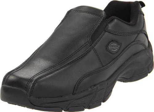Dickies Men's Athletic Slip-On Work Shoe,Black,14 M US