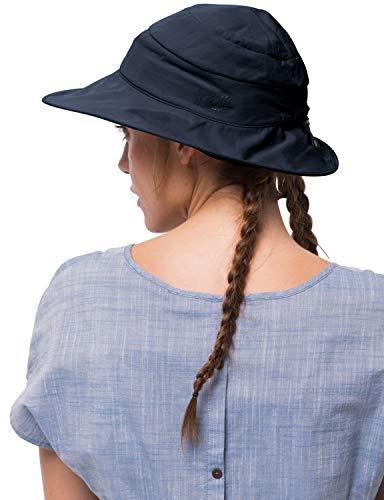 Jack Wolfskin Damen Supplex Atacama Chapeau Strickmütze, (Midnight Blue), (Herstellergröße: One Size)