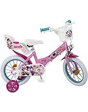 "Jugatoys Bicicleta 14"" Disney Minnie 4/7 AÑOS"