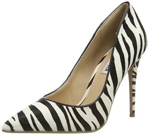 Steve Madden Damen Daisie-L Heel Pumps, Mehrfarbig (Zebra 999), 41 EU