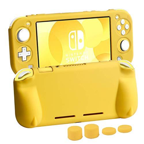 CHIN FAI Funda Protectora para Nintendo Switch Lite 2019, Funda de Agarre Suave con Asas ergonómicas y cómodas para...