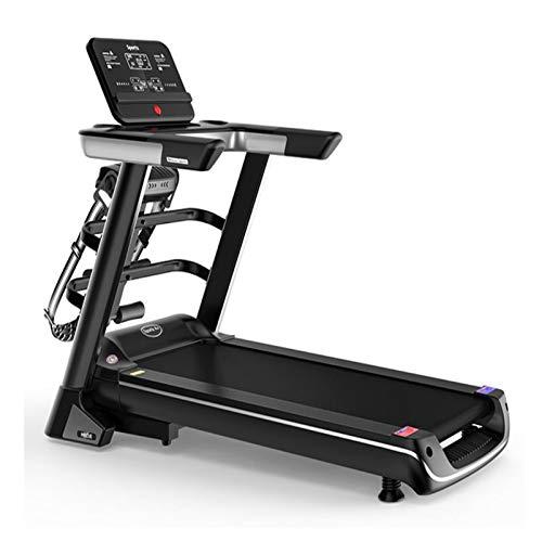 DDXY-Cinta de Correr Multifunción de Inclinación Ajustable,Máquina de Correr Plegable Motorizada Eléctrica para Home Gym Office Space Saver