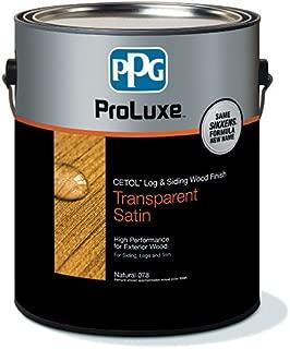 PPG ProLuxe 1 Gallon Cetol Log & Siding Translucent - Cedar 077