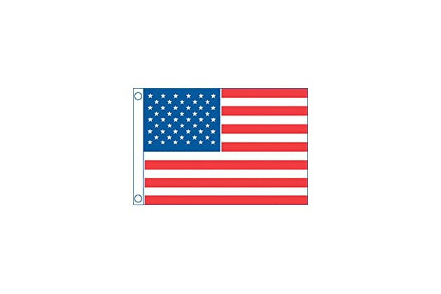 16 in Flag 50 Star U.S X 24 in