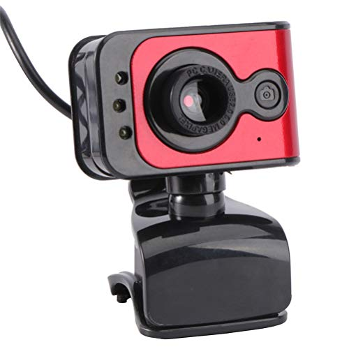 YOUSHI 1Pc Practical Computer USB Camera High-definition Live Meeting Webcam With Mic