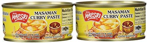 Maesri Thai masaman curry  4 oz x 2 cans