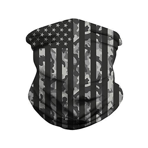 Camouflage Face Mask Balaclava Coronae Virtues Protection, Multicam Neck Gaiter Military Bandana Balaclava Covered Scarf