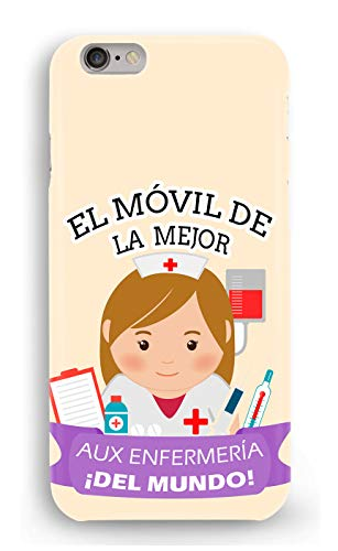 Funda Carcasa Auxiliar de enfermeria para Xiaomi Mi A1 plástico rígido
