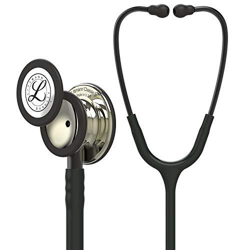 Fonendoscopio 3M™ Littmann® Classic III™ con grabado láser gratuito - Negro Champagne 5861