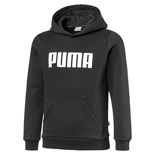 PUMA Essentials Jungen Fleece Hoodie Cotton Black 152
