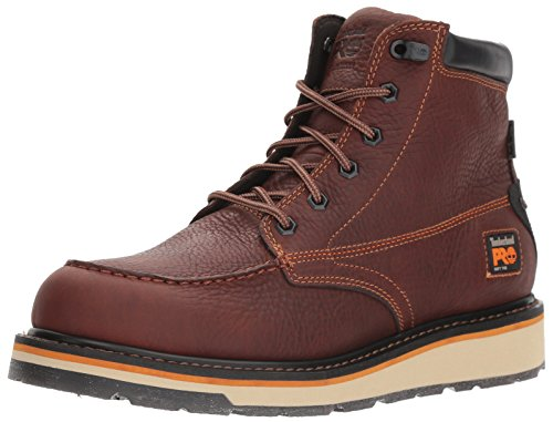 Timberland PRO Men's Gridworks Moc Soft Toe Waterproof Industrial Boot, Brown, 9.5 M US
