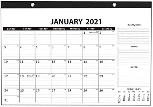 CALENDAR 2017 Calendarios 2021 Calendario de Escritorio 2021, Lista de tareas, 2021 años Planificador A1 Planificador de Pared Laminado Grande, borrable Calendario de Pared Anual ZSMFCD (Color : B)