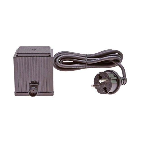 Steckernetzteil 24V AC Trafo 1500mA 36VA 36 Watt W IP64 Transformator 24 Volt Netzteil für LED Baum Lichterkette