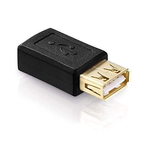 conecto CC20128 USB 2.0-Adapter Micro-USB-Buchse auf USB-Buchse Typ A Schwarz