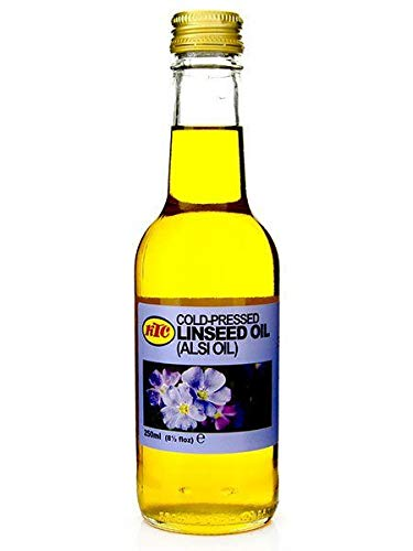KTC Aceite de linaza puro 250 ml - Paquete de 1/2/3 - Precios bajos en tamaños de paquete 3 unidades