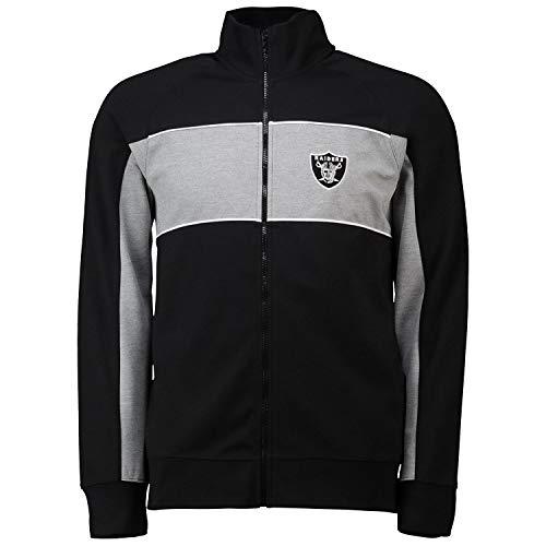 Fanatics NFL Oakland Raiders Cut Sew Track Jacket Jacke mit Zip (XXL)